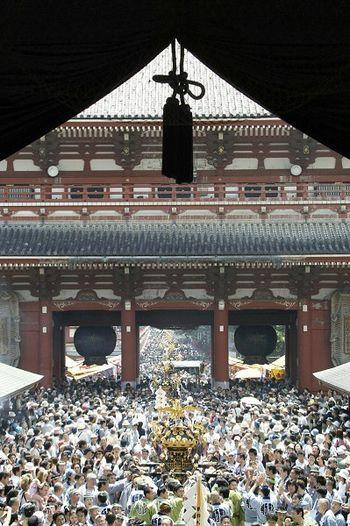 Самый древний в Пекине храм Цьенцао (Asakusa Kannon Temple). Фото: KAZUHIRO NOGI/AFP/Getty Images