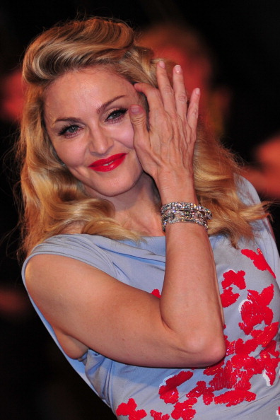 Мадонна (Madonna). Фото:GIUSEPPE CACACE/AFP/Getty Images