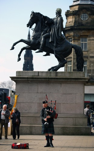 Единбург, Шотландія. Фото: Jeff J Mitchell / Getty Images
