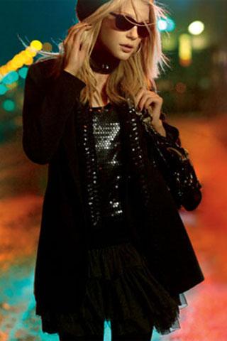 Канадская супермодель Джессика Стэм (Jessica Stam). Фото с efu.com.cn
