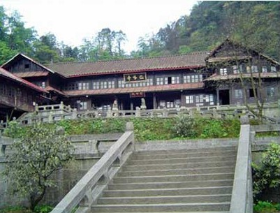 Ставок Сісянчі. Гори Емей. Фото з zhengjian.org