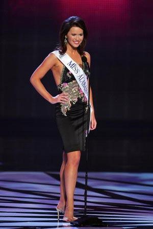 Мисс Алабама, Melinda Toole получила титул Мисс Конгениальность по итогам голосования телезрителей. Фото: Ethan Miller/Getty Images
