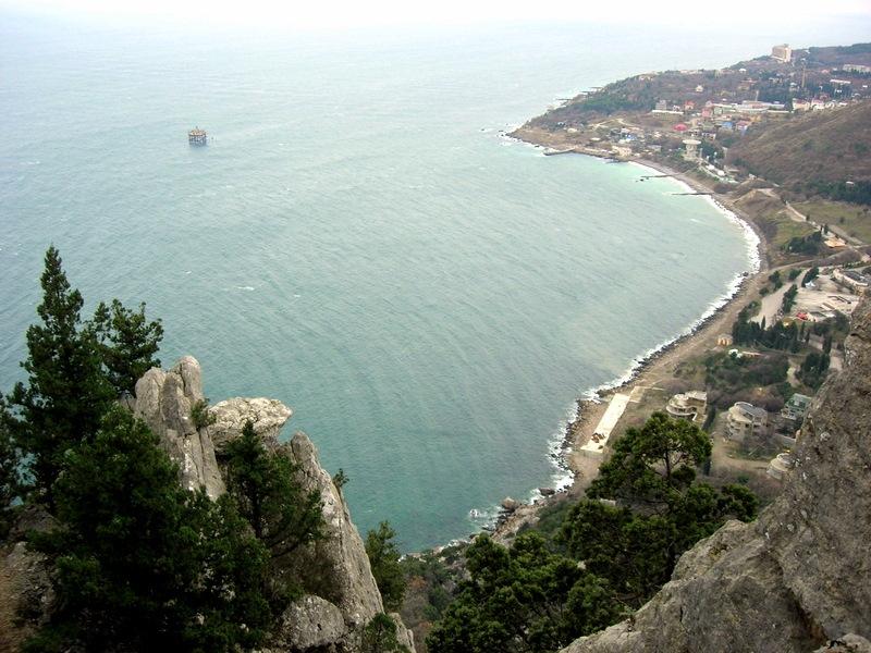 Вид с горы Кошка на Голубой залив. Фото: Алла Лавриненко/The Epoch Times Украина