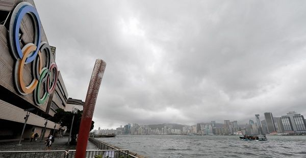Район планируемого проведения соревнований по конному спорту. 6 августа. Гонконг. Фото: AFP