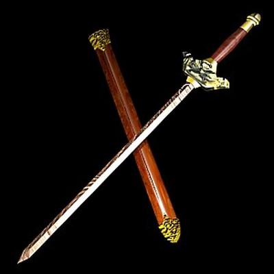 Візерунчастий меч. Виготовлений з розжареного металу. Фото з aboluowang.com