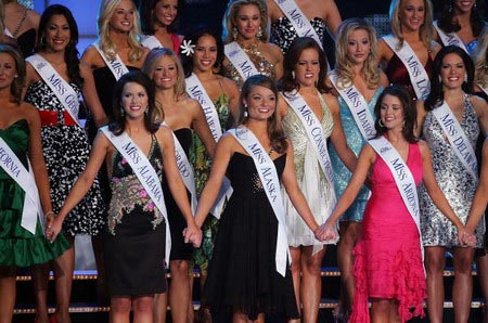 Участницы конкурса Мисс Америка. Фото: Ethan Miller/Getty Images