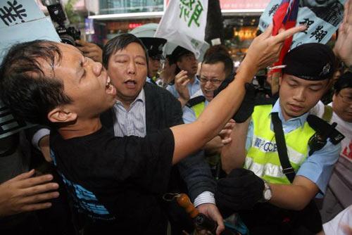 Виник конфлікт із поліцією Гонконгу. Фото: PHILIPPE Lopez/afp/getty Images