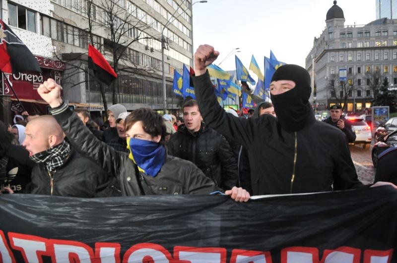Марш посвящённый 69-й годовщине создания Украинской повстанческой армии прошёл в Киеве. Фото: Владимир Бородин/The Epoch Times Украина