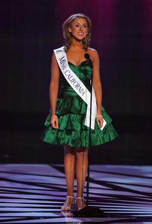 Мисс Калифорния. Jacquelynne Fontaine. Фото: Ethan Miller/Getty Images
