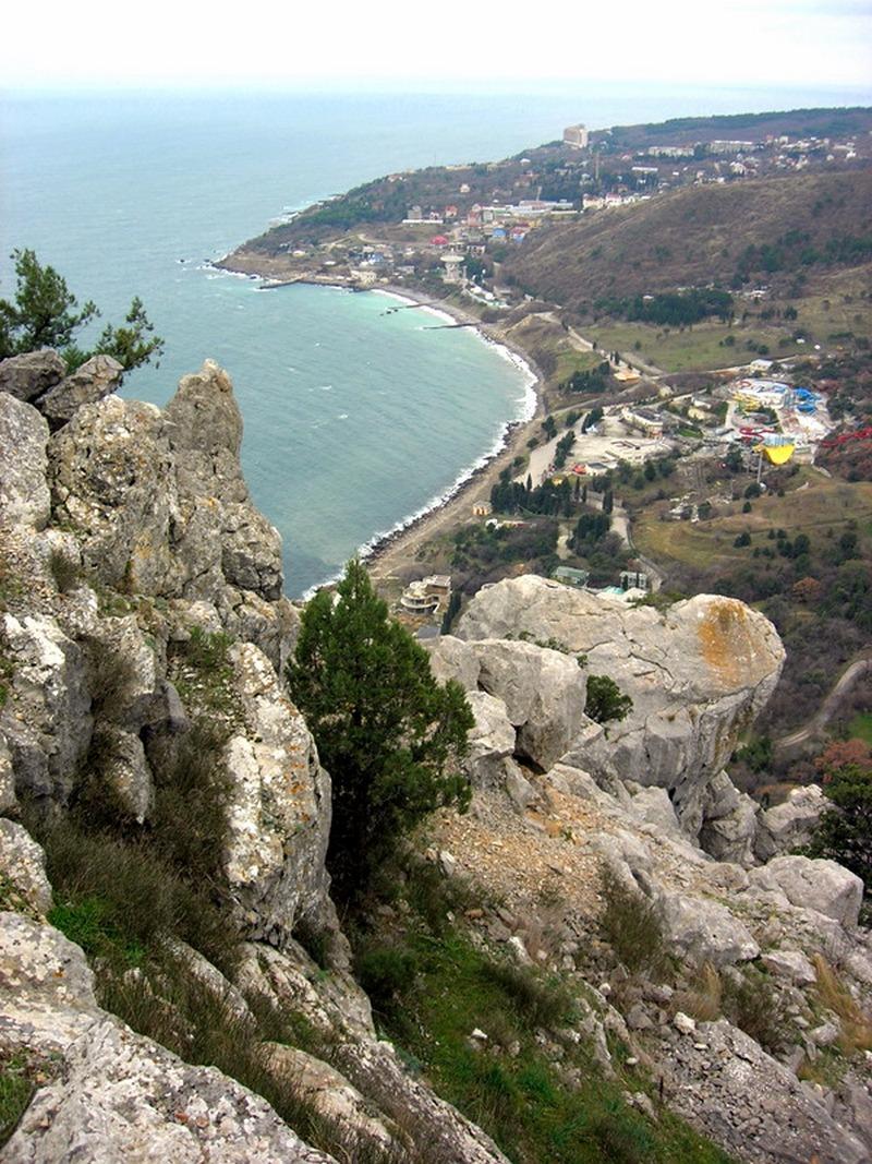 Вид с горы Кошка на пос. Понизовка. Фото: Алла Лавриненко/The Epoch Times Украина