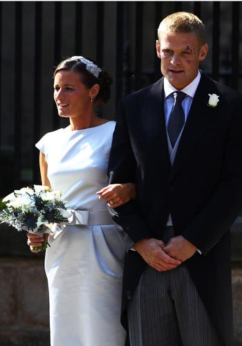 Весілля онучки королеви Єлизавети II Зари Філіппс. Фото: Jeff J Mitchell / Getty Images