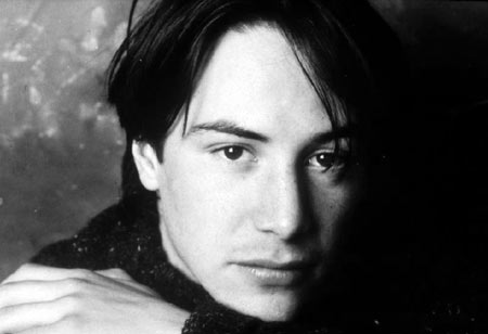 Киану Ривз в начале 90-х. Фото: Sunny Bak/ keanureeves.ru