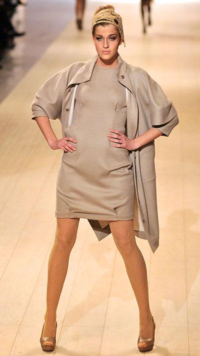 Елена Даць представила коллекцию на Ukrainian Fashion Week 19 марта 2011 года. Фото: Владимир Бородин/The Epoch Times Украина