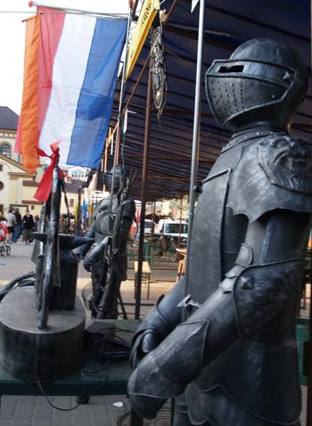 Міжнародний фестиваль ковалів в Івано-Франківську. Фото: Юлія Ламаалєм/The Epoch Times