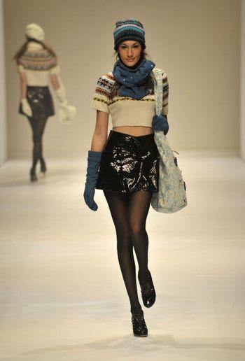 Колекція жіночого одягу, що її було представлено 17 січня на Тижні моди у Гонконзі. Фото: Andrew Ross/Getty Images