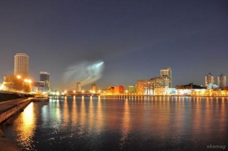 С Байконура запустили ракету-носитель 'Союз'. Фото с блога Ekamag
