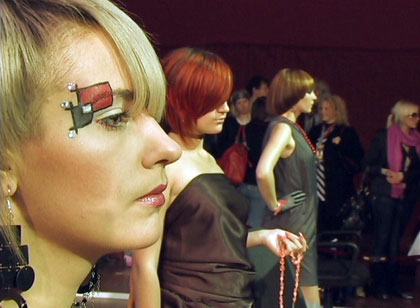 В Киеве состоялся Чемпионат Украины по парикмахерскому искусству, а также конкурс на лучший макияж и маникюр. Фото: The Epoch Times