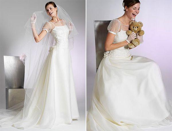 Елегантні весільні плаття. Моделі 2008 р. Фото з efu.com.cn