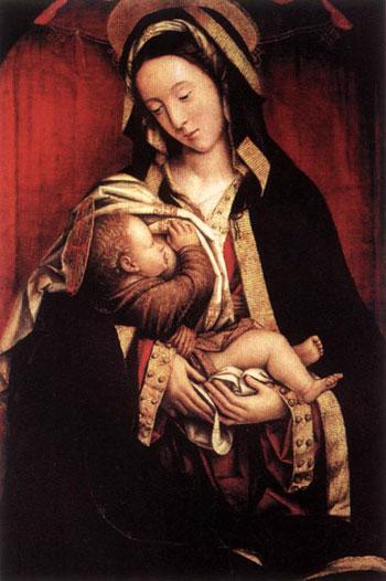 Дефенденте Феррарі. Мадонна з Немовлям. Палаццо Пітті, Флоренція, Італія. Зображення: Art Renewal Center