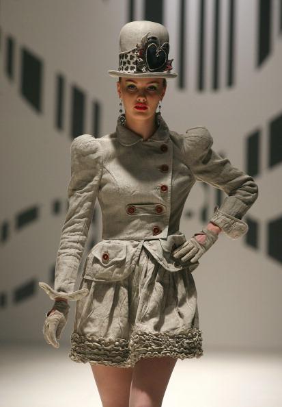 Показ колекції Giedrius Sarkauskas на фестивалі моди «Fashion Infection». Фото: PETRAS MALUKAS/AFP/Getty Images