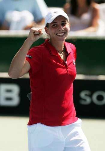 Марина Ераковіч з Нової Зеландії під час змагань. Фото: Sandra Mu/Getty Images
