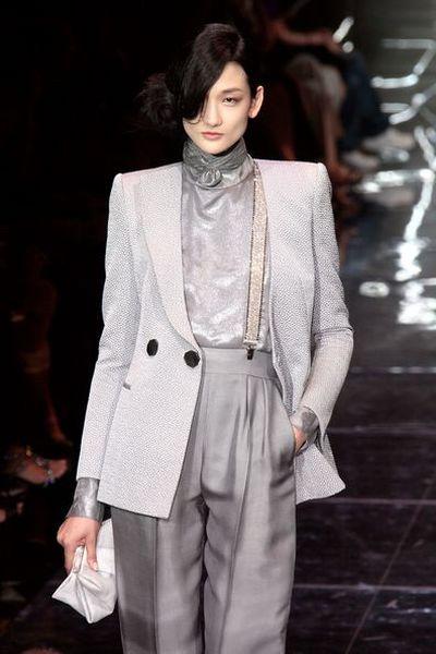 Колекція від Giorgio Armani на Тижні високої моди в Парижі. Фото: АFP