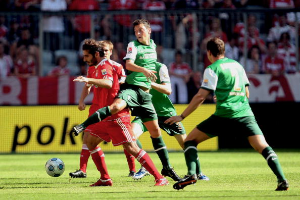 «Баварія» – «Вердер» Фото:Lars Baron,JOERG KOCH,Lars Baron/Getty Images Sport