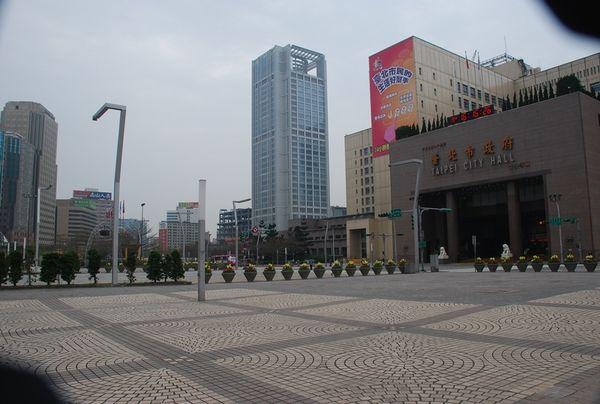 Здание администрации города. Фото с aboluowang.com
