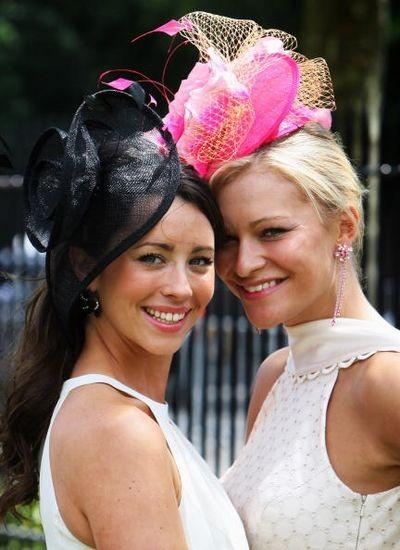 Найцікавіші жіночі капелюхи на верхогонах 'Royal Ascot' .Фото: Getty Images