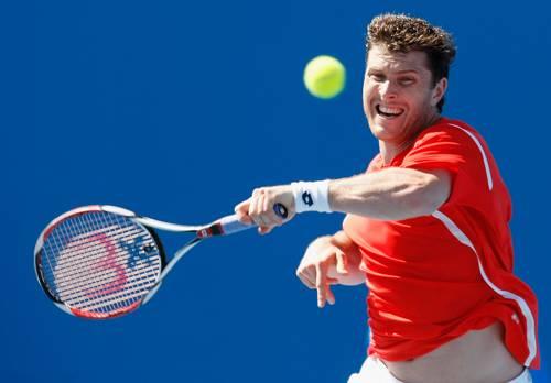 Беррер Міхаель (Німеччина) (Michael Berrer of Germany) під час відкритого чемпіонату Австралії з тенісу. Фото: Quinn Rooney/Getty Images