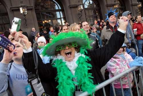 В Пенсильвании, первого января состоялся ежегодный парад по случаю дня пантомимы. Фото:  William Thomas Cain/Getty Images