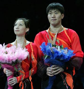 Дань Чжан и Хао Чжан (Китай) Фото: YURI KADOBNOV/AFP/Getty Images
