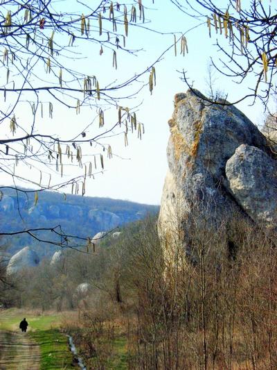 Причудливой формы скалы Баллы-Коба встречают путешественника. Фото: Алла Лавриненко/The Epoch Times Украина