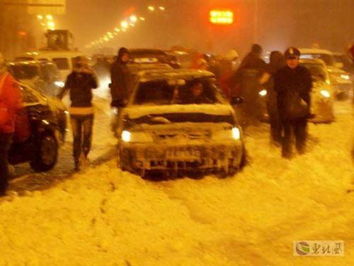 Китай продовжує потерпати від сильної негоди. Фото з secretchina.com