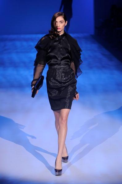 Колекція від Christian Siriano сезону осінь-зима на Тижні моди Mercedes-benz в Нью-Йорку. Фото: Getty Imges