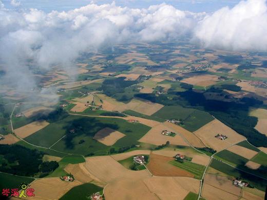 Деревня в Германии. Фото: secretchina.com