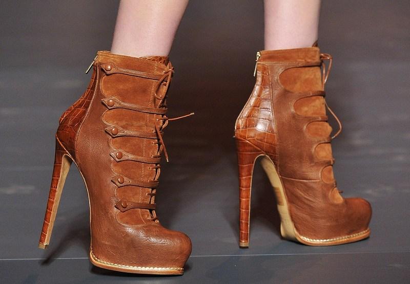 Модные тенденции обуви 2011/2012 года