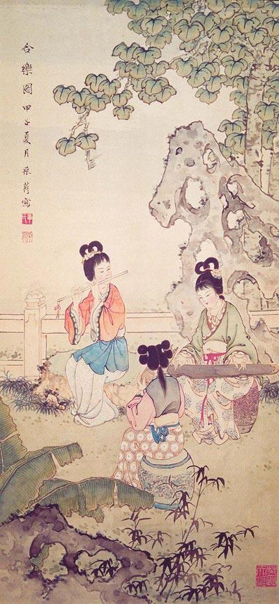 Традиційний живопис Китаю. Гармонія. Чжан Цуйїн