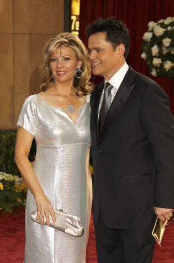Актер Донни Осмонд (DONNY OSMOND) и его супруга Дебби Осмонд (Debbie Osmond) посетили церемонию вручения Премии 'Оскар' в Голливуде Фото: Vince Bucci/Getty Images
