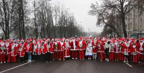 Вильнюс. Фото: PETRAS MALUKAS/AFP/Getty Images