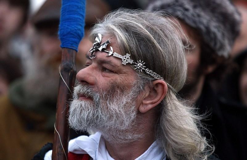Верховный друид Артур Пендрагон. Фото: Matt Cardy/Getty Images