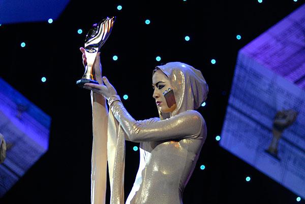 Нагороду у вигляді статуетки «Вогонь Прометея» вручили 17 переможцям. Фото: Володимир Бородін/The Epoch Times