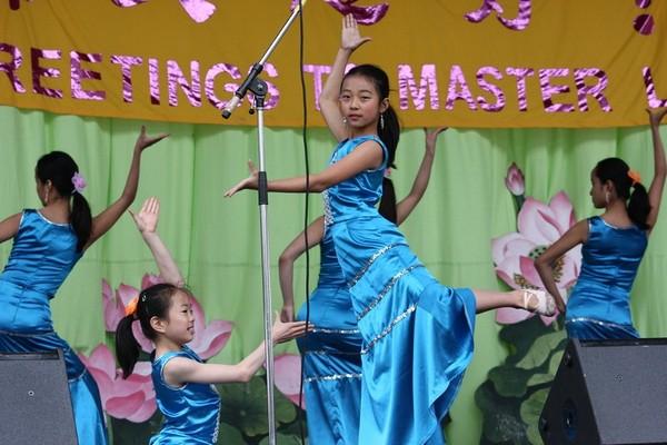 Празднование Всемирного Дня Фалунь Дафа в Торонто (Канада). 16 мая. Фото: Сунь Дайли/The Epoch Times