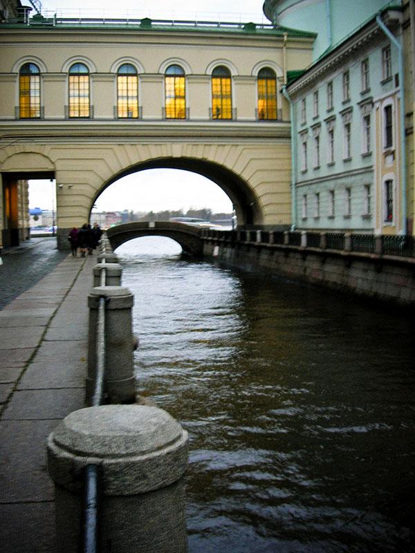 Канал Зимняя канавка, Эрмитажный мост. Фото: Алла Лавриненко/The Epoch Times Украина