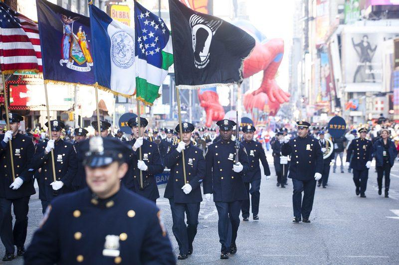Парад Macy's в ежегодный 85-й День благодарения 24 ноября 2011 года в Нью-Йорке. Фото: Michael Nagle/Getty Images