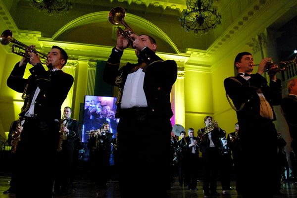 Национальный Президентский оркестр.Фото: Антон Поднебесный/The Epoch Times