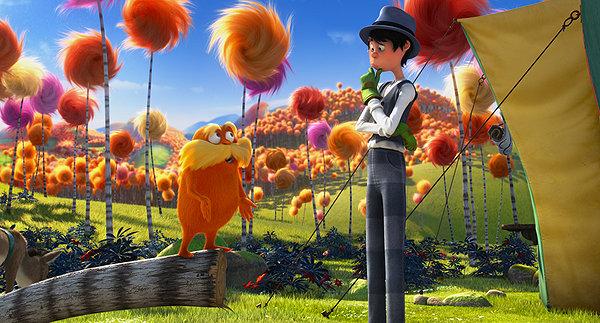 Кадр из 3D-мультфильма «Лоракс».