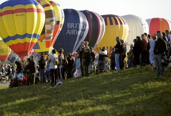 11-й Міжнародний фестиваль повітряних куль.Фото: JEAN-CHRISTOPHE VERHAEGEN/AFP/Getty Images