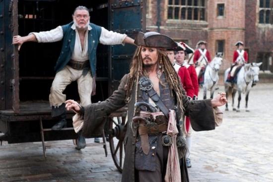 Кадр с фильма «Пираты Карибского моря: На странных берегах». Фото: Walt Disney Pictures