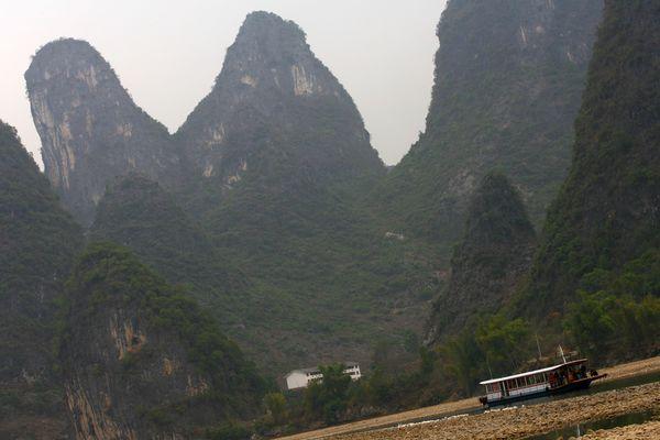 Пейзажі гір і річок міста Гуйліня. Фото: China Photos/Getty Images